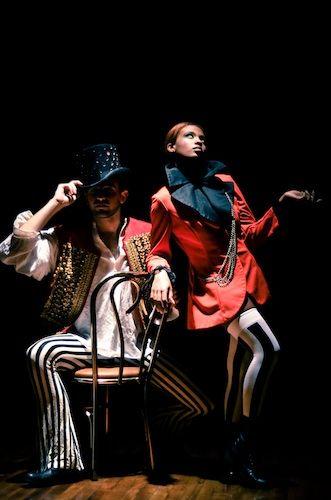 Spotlight Costumes - vintage circus concept