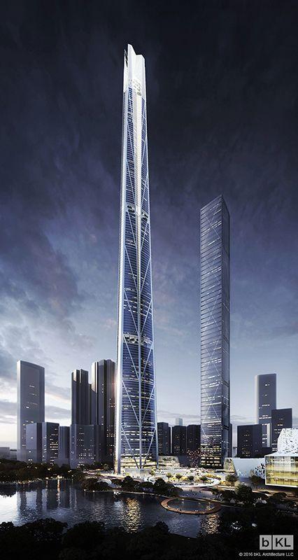 H700 Shenzhen Tower, Shenzhen-China. 700 m. | Pro 2016 | bKL Architecture