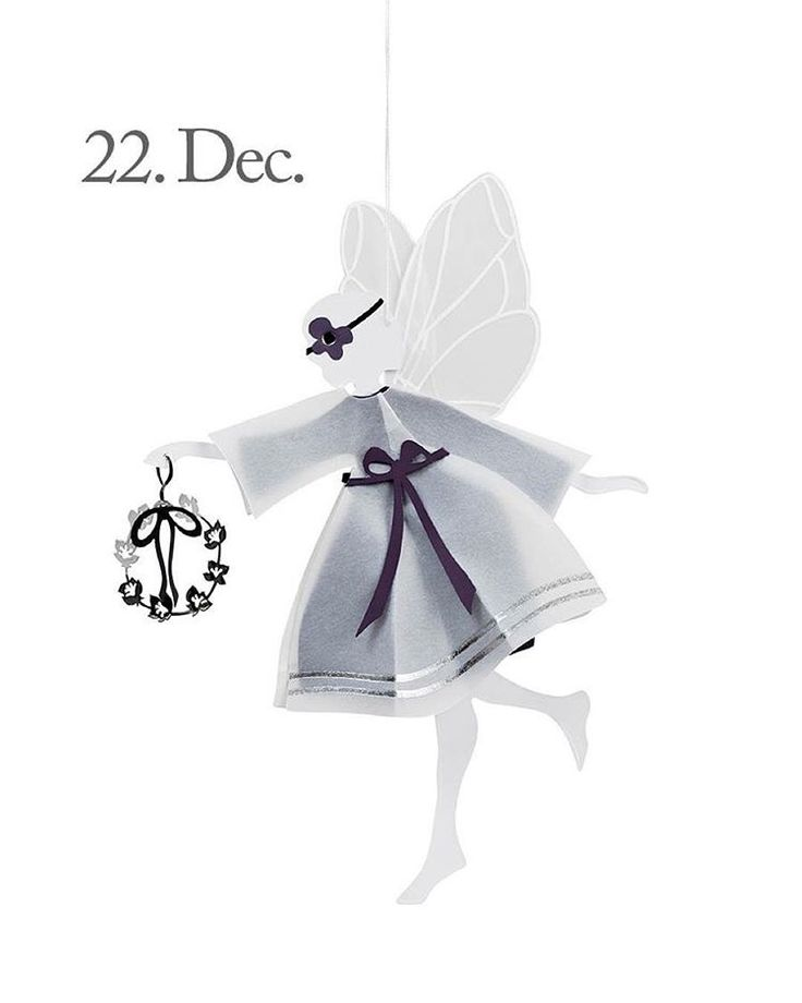 Good morning, Tuesday, 22th of December and only 2 days until Christmas! The design of the day is our Purple Fairy with Wreath, large. Like our Facebook page & the post of the day and you might be the lucky winner! The Purple Fairy with Wreath costs 149,- dkk in our web-shop www.jettefroelich.dk, but for today only! (Normal price 299,-) #christmascalendar #christmasgiveaway #facebook #purplefairywithwreath #jettefrölich #jettefroelich #jettefrölichdesign #jettefroelichdesign #danishdesign…