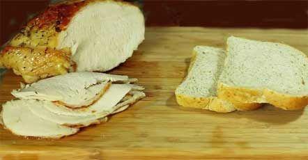 Легко и просто приготовить : Бутерброд с индейкой и яблочным соусом