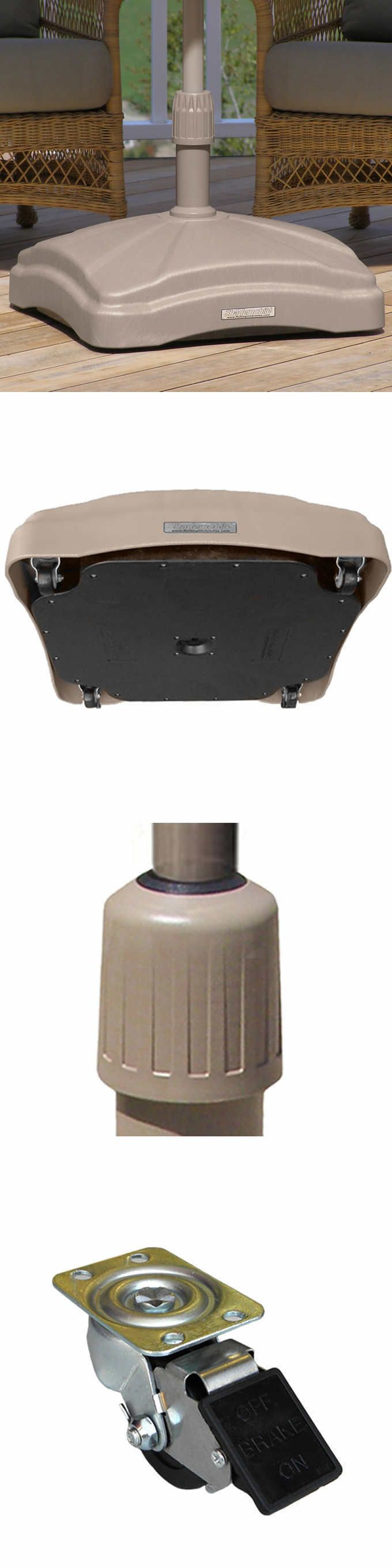 Umbrella Stands 180999: Rolling Umbrella Pole Base Home Patio Decor Turn Pivot Stand Outdoor Furniture -> BUY IT NOW ONLY: $199 on eBay!