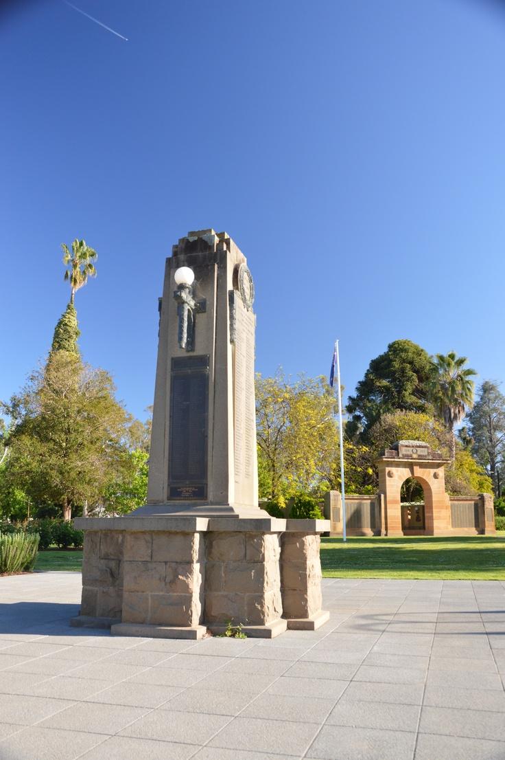 Great War Memorial, Wagga Wagga, NSW.