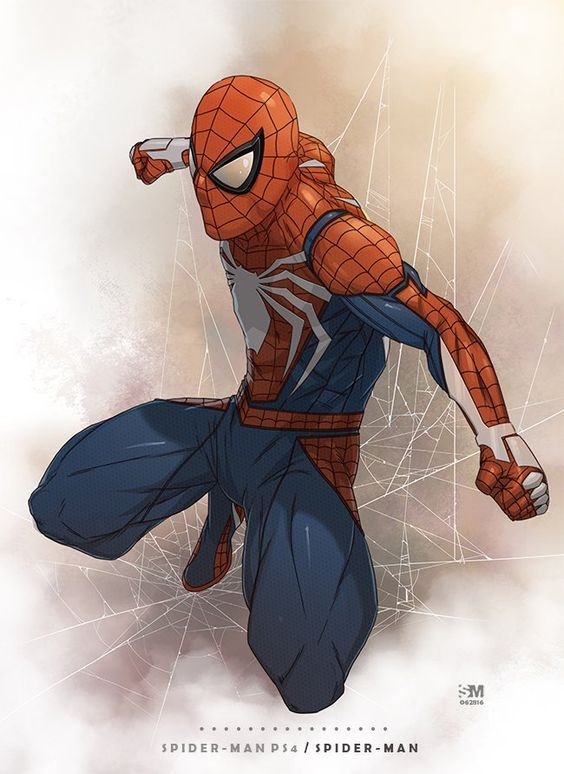 Spider-Man from the PS4 Video Game