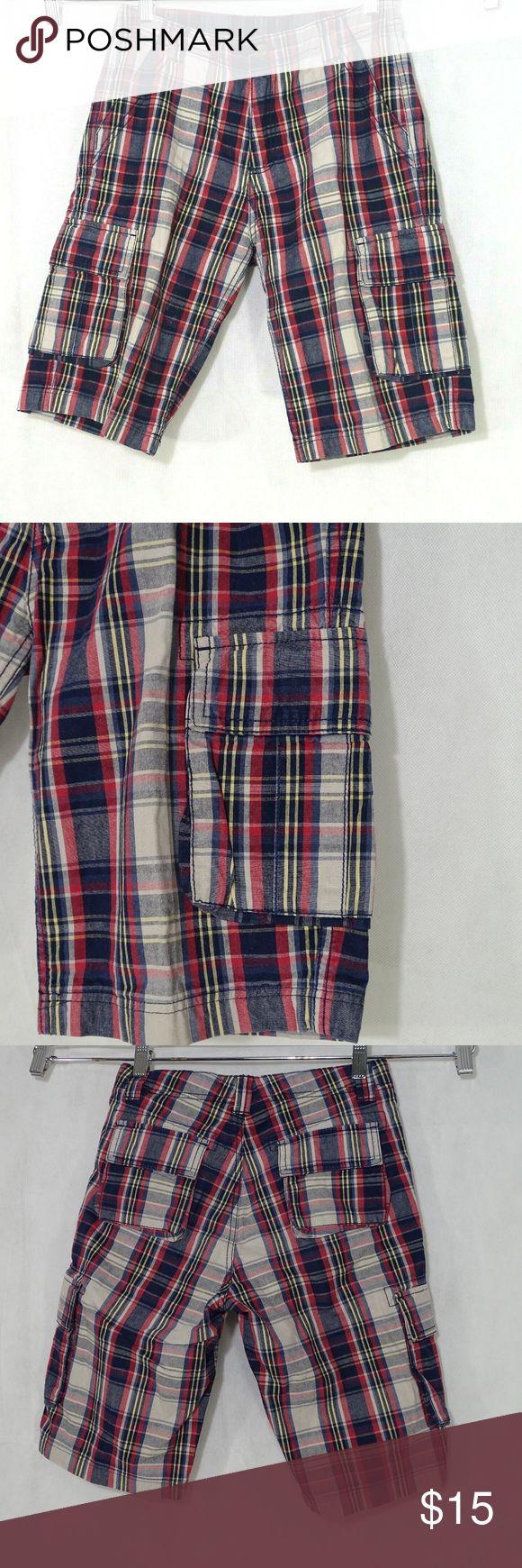 GreyRedBlue Knitted Boys Lace Up