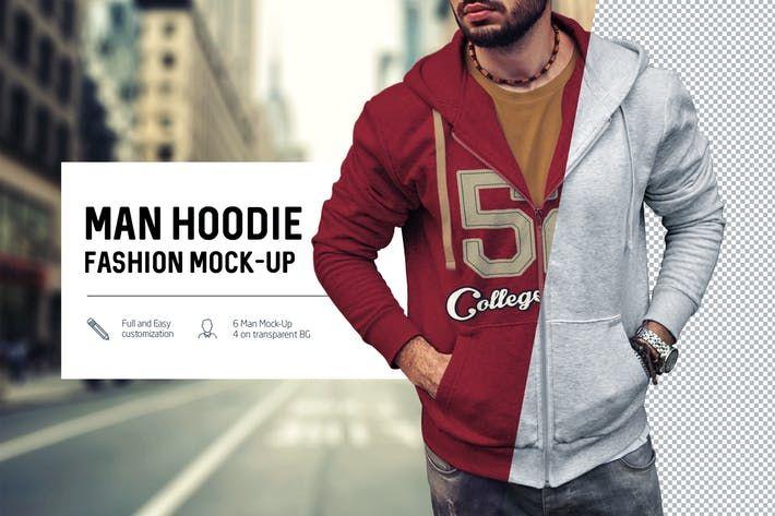 Download Man Hoodie Fashion Mock Up By Temaphoto On Envato Elements Hoodies Men Style Hoodie Fashion Hoodies Men