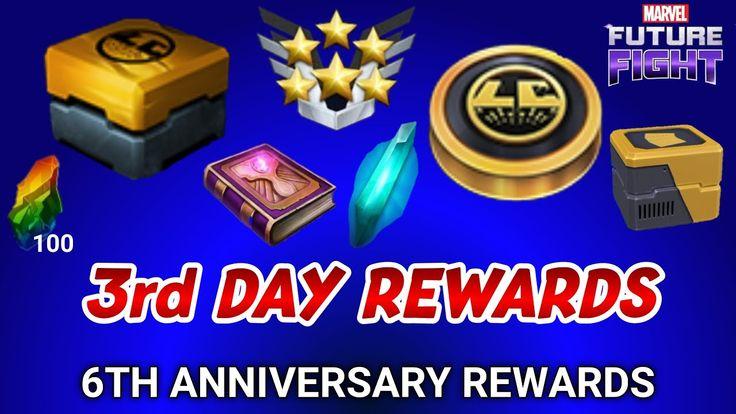 3rd day rewards 6th anniversary event mff mff hindi