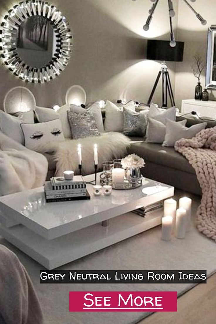 Cozy Neutral Living Room Ideas Earthy Gray Living Rooms To Copy Clever Diy Ideas Living Room Grey Beige Living Room Decor Dark Grey Living Room