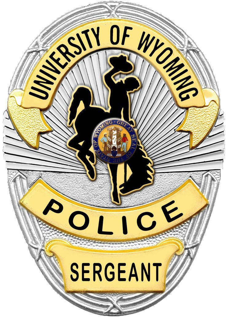 University of Wyoming Police Sergeant badge | Police ...