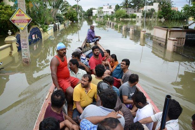 Tamil Nadu is currently facing its heaviest rains in over a 100 years. So far, the rains have claimed at least 188 lives, and the deluge is predicted to last for the next 72 hours. | Front Pages Of Newspapers Across India Have Ignored Chennai's Crisis...