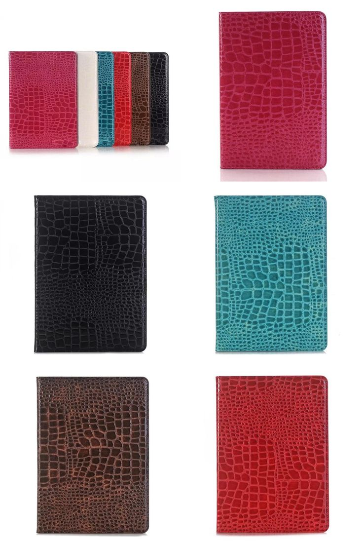[Visit to Buy] Fashion crocodile PU leather case for samsung galaxy tab A 8.0 T350 T355 SM-T355 8'' tablet cover case T350 folio stand case #Advertisement