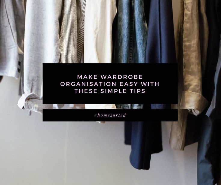 There are two schools of people when it comes to wardrobe organisation. Those who love organising (you know which category we fall into!) and those who look at their wardrobe and see nothing but a disaster zone. We're here with our latest blog to show you that wardrobe organisation can be easy! 1. Dedicate time …