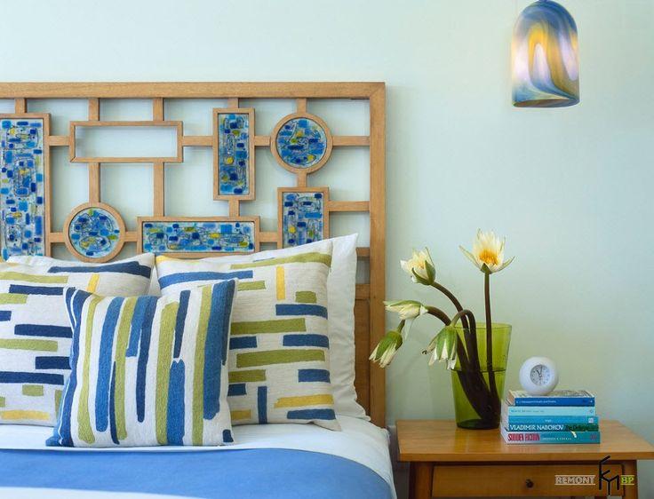 Красивые и необычные изголовья кровати: фото и советы по оформлению