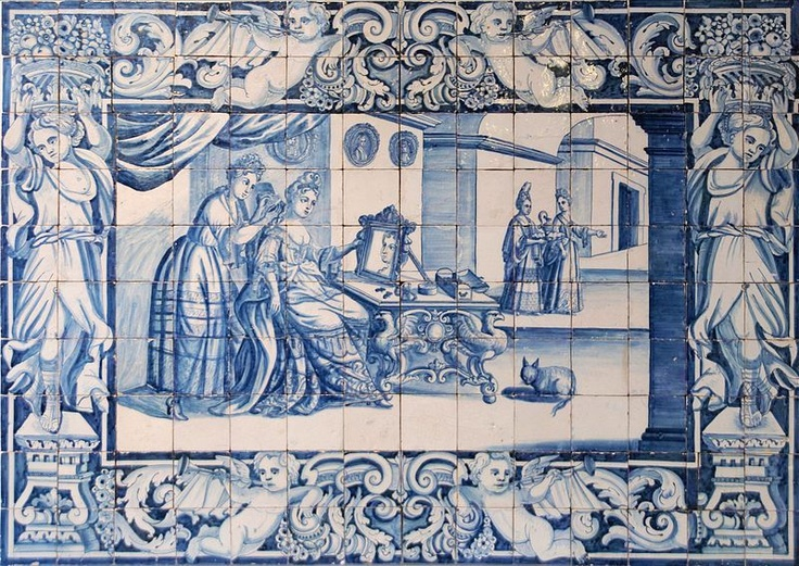 National Tile Museum (Museu Nacional do Azulejo) – Lisbon.  Azulejos are those beautiful hand-painted tiles you see on buildings everywhere in Portugal. Portuguese are very proud of this unique and iconic art form that is unique to their heritage.