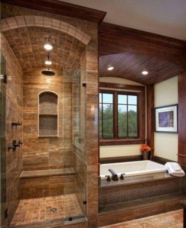 Masterbathrooms: Beautiful Master Bathroom