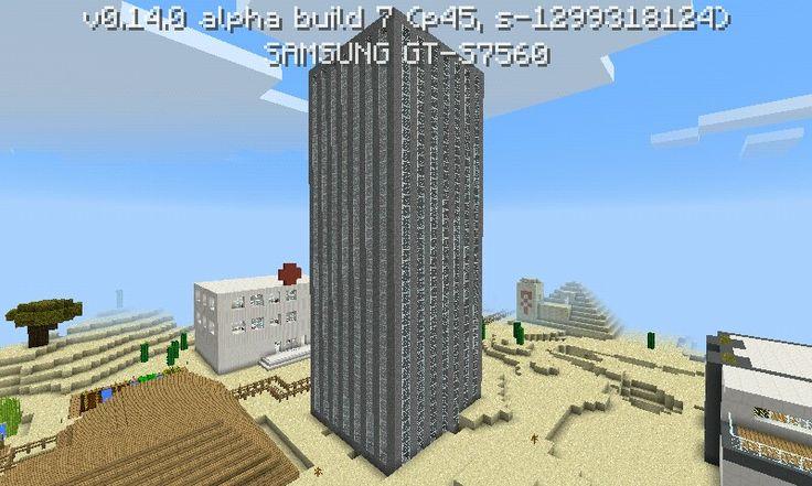 Minecraft PE mrakodrap