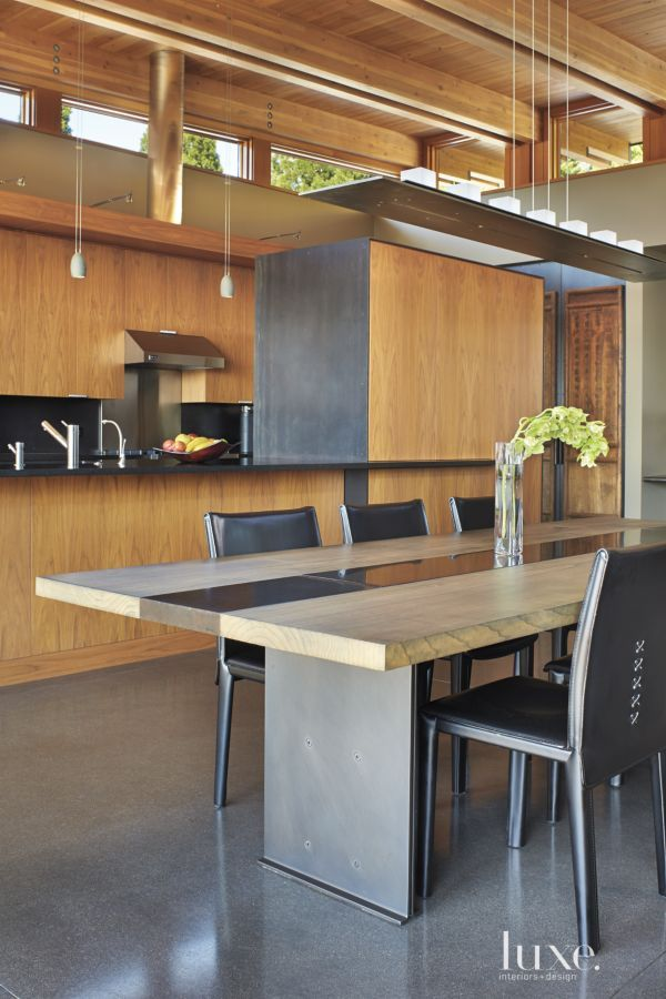 Contemporary Mercer Island Home with Wood and Metal Accents   LuxeSource   Luxe Magazine - The Luxury Home Redefined