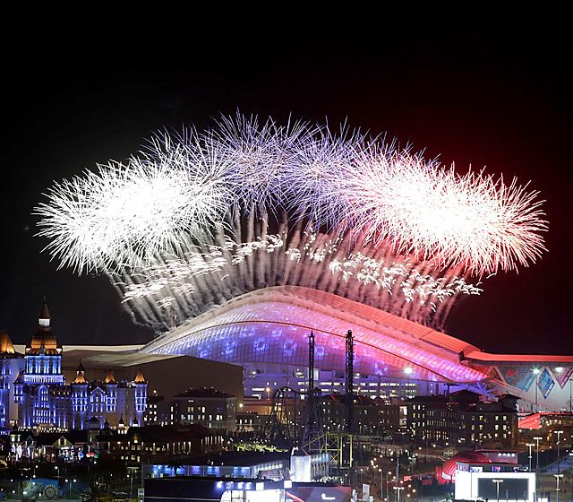 Sochi Winter Olympics 2014: Opening Ceremony Fireworks, Fanfare, and Malfunctions!