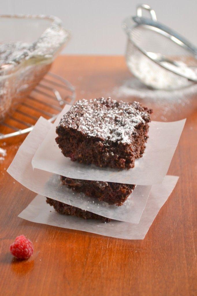 raspberry brownie (idea)