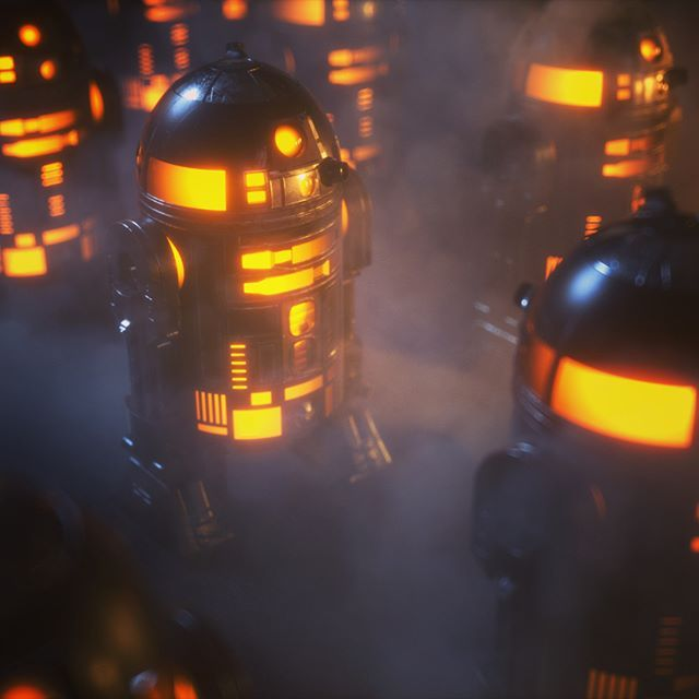 octanerenders@danielwalton402 going at it with this cool R2D2 render. Great lighting and atmo. Check his Profile out for more. - #Cinema4d #adobe #artist  #octanerender #otoy #art #artwork #photoshop #instadaily #dailyart #digitalart #artofvisuals #graphicdesign #conceptart #creative #3d #future #visuals #scifi #scifiart #surreal #fantasy #cg #cgi #aov #render #octane #projectoctane #c4d