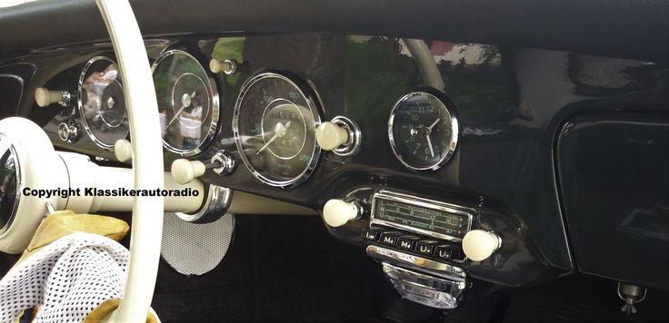 Blaupunkt Frankfurt im Porsche 356, Classic Oldtimer Gala Baden Baden 2017