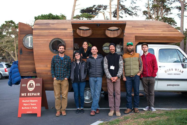 Patagonia's Worn Wear Wago truck, built by artist Jay Nelson, will be touring the U.S. repairing beloved clothing during the Worn Wear Tour.