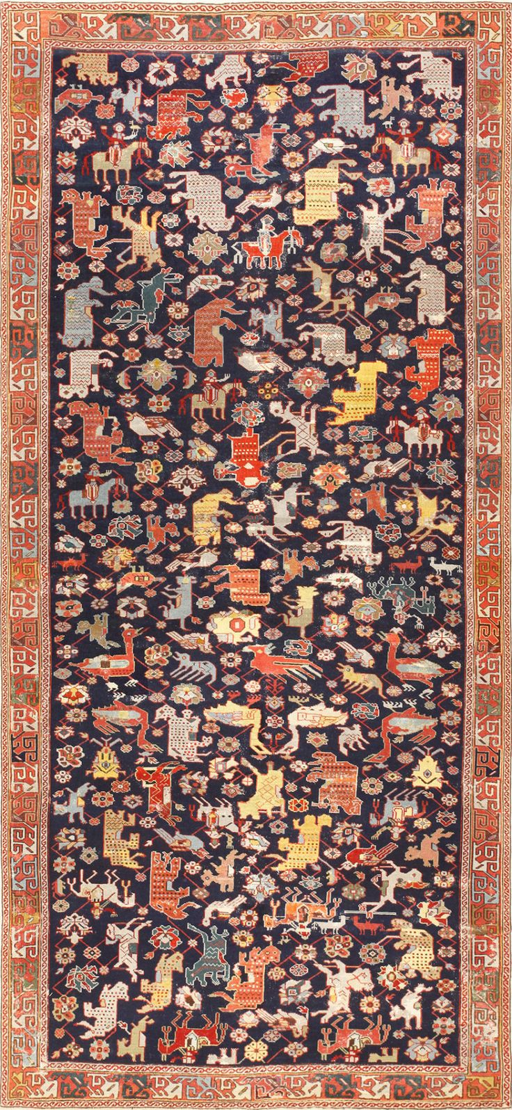 37 best Antique Carpets of the Caucasus images on Pinterest ... for Aladdin Carpet Design  75sfw