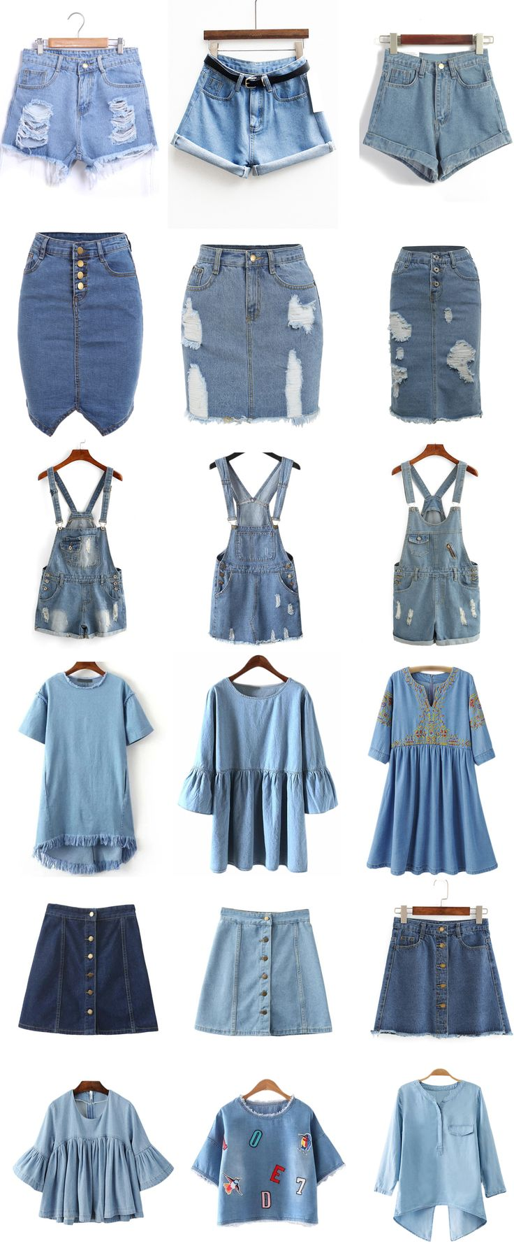 Denim Fashion - Searching more amazing pieces at Romwe.com