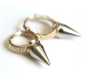 DIY Spiked Knucklebuster Ring