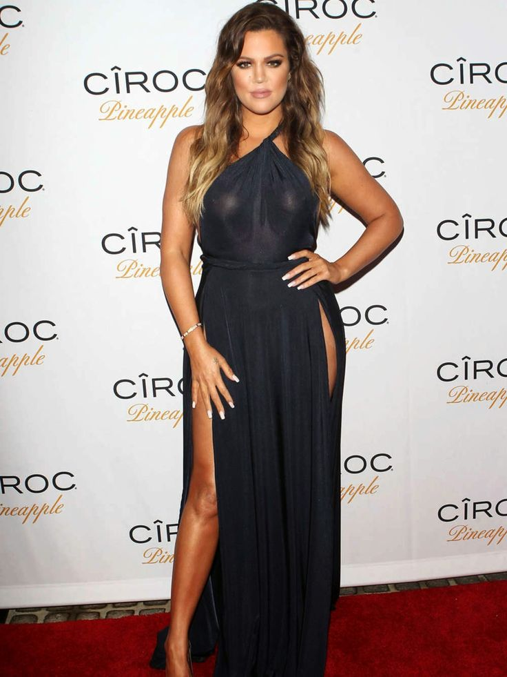 Khloe Kardashian - French Montana birthday party