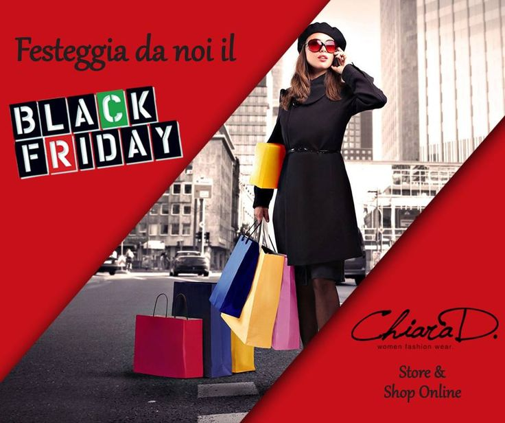 Come festeggerai questo #BlackFriday? Chiara D. ti aspetta in negozio (e sul suo store online) per poter soddisfare ogni tua irresistibile smania di #shopping http://www.chiarad.it/collezione-fall-winter/acquista-per-designer.html #dress   #fashion   #online   #store