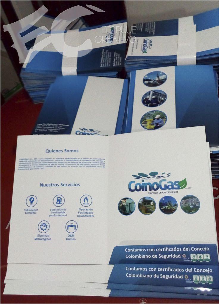 #Carpetas para documentos impresas a full color acabado #MateUV