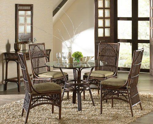 Panama Jack Bora Bora 5 Piece Wicker Living Room Set from Hospitality Rattan