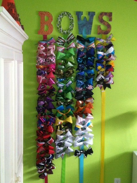 BOW organization - see 'em and find 'em in less time!