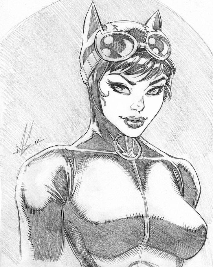 Catwoman by Marc Huizinga
