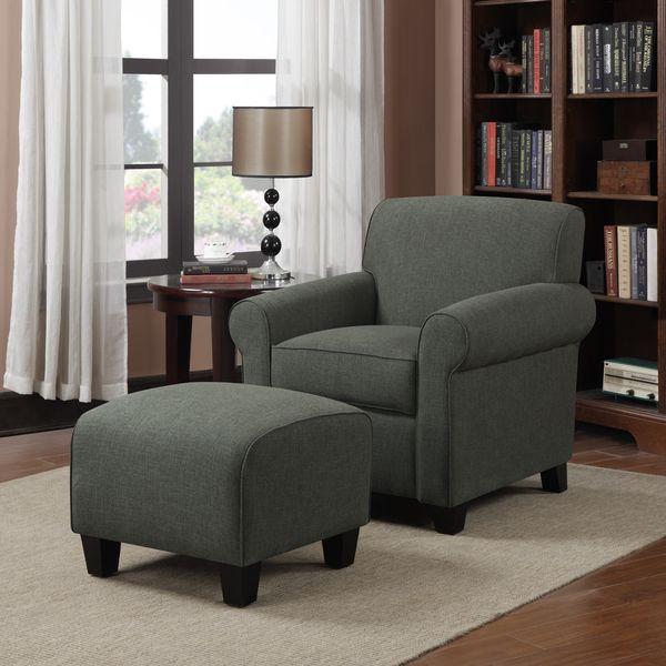 Master Bedroom Ideas Portfolio Mira Amethyst Purple Linen Arm Chair And Ottoman