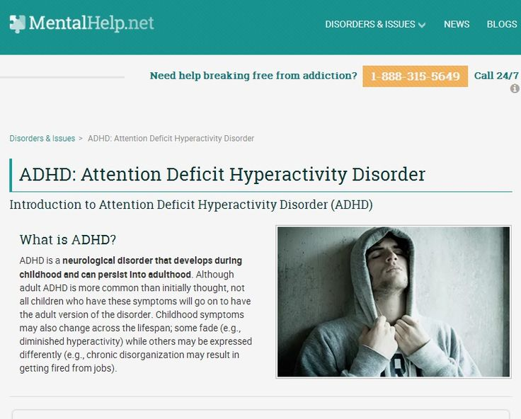 attention deficit hyperactivity disorder and its symptoms One of the most common childhood disorders, attention-deficit/hyperactivity disorder (adhd) affects approximately 11% of children 1 although symptoms persist into.