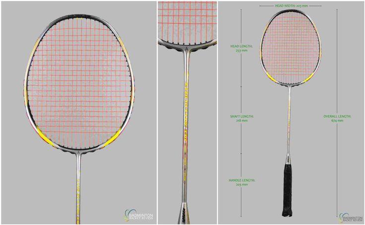 Ashaway Nano Dynamic 330 Badminton Racket