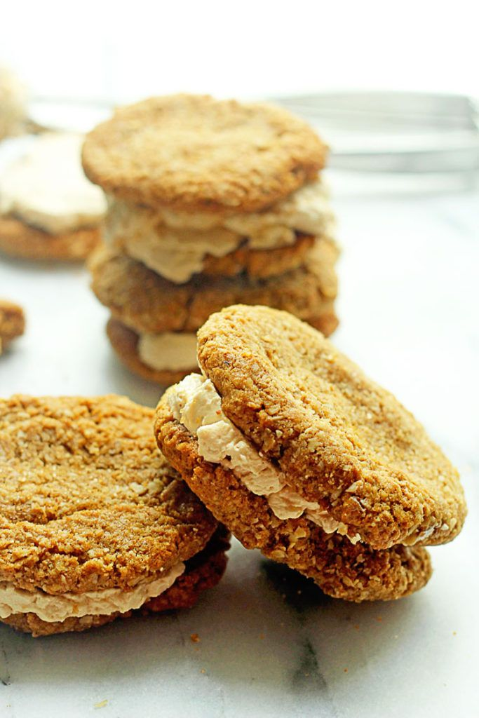 Oatmeal Cream Cookie Sandwiches | Grandbaby Cakes