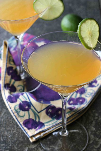 Passionfruit & Lime Gin Martini.
