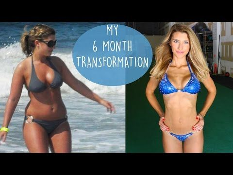 My 6 Month Weight Loss Journey to become a NPC bikini competitor - YouTube