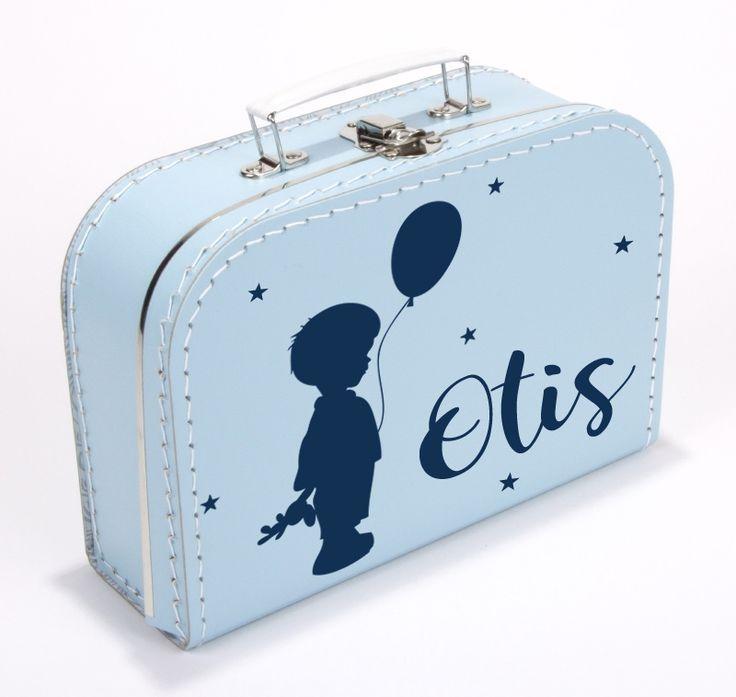 Koffertje met naam type Otis | Koffertje met naam | Geboortesticker Company