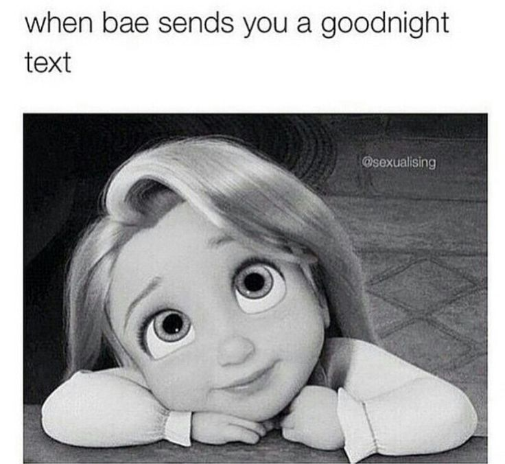 """Every night he sends me a cute goodnight text even when its just a short little """" i love you baby goodnight""""  but when its one of the long romantic ones then its just"""