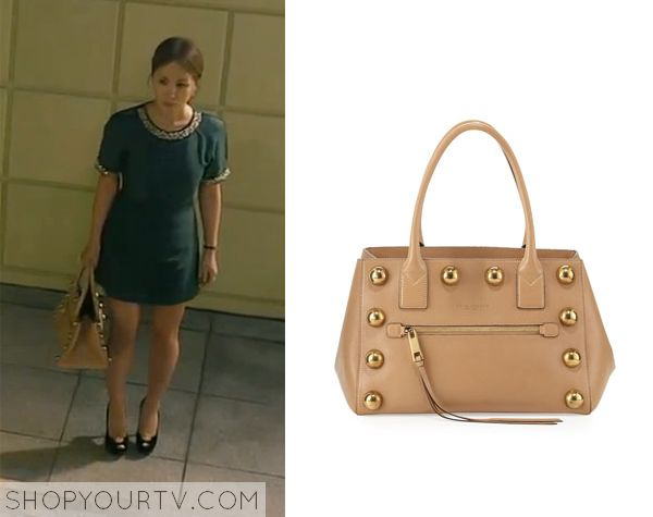 Witch's Romance: Episode 7 Ban Ji Yeon's Studded Beige Bag - ShopYourTv
