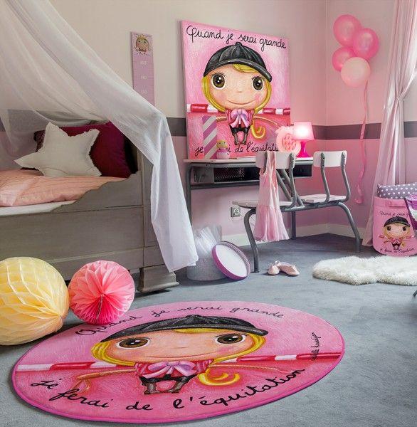 Le coin des cr ateurs tapis pour enfant equitation - Deco chambre d enfant ...