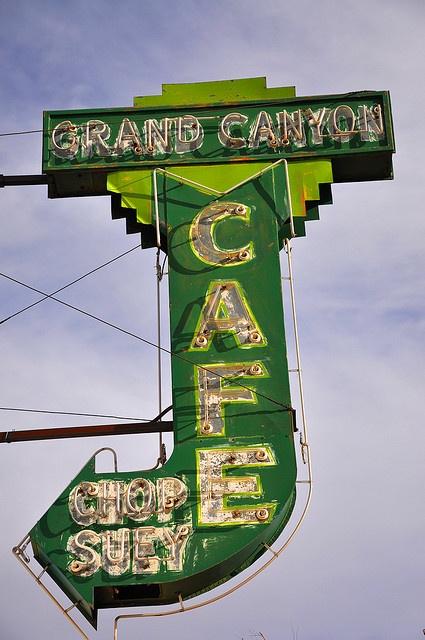 Neon Neon Neon Grand Canyon Cafe .......Flagstaff, Arizona