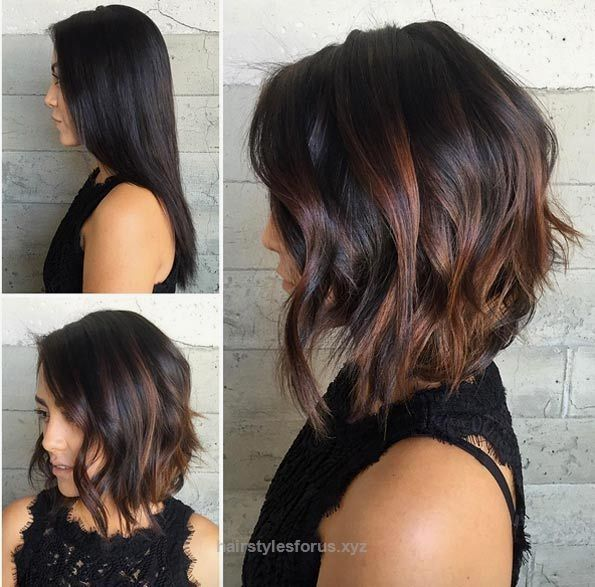 Magnificent Choppy A-line bob by Jessica Mendieta The post Choppy A-line bob by Jessica Mendieta… appeared first on Hairstyles .