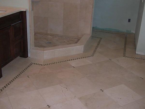 Tile Floors Designs | Bathroom Floor Designu2014Mason Tile U0026 Marble