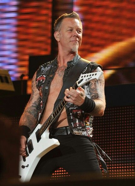 The One and Only Metal Fucking God.....James Hetfield!   The King of Metal!