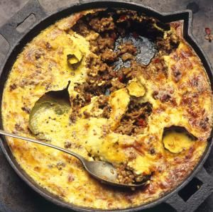 Bobotie, spiced mince baked with savoury custard, from South Africa - Hugh Johnson/Dorling Kindersley/Getty Images