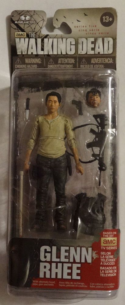 Mcfarlane The Walking Dead Series 5 Glen Rhee (1) Action Figure #McFarlaneToys